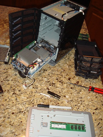 home server disassembled