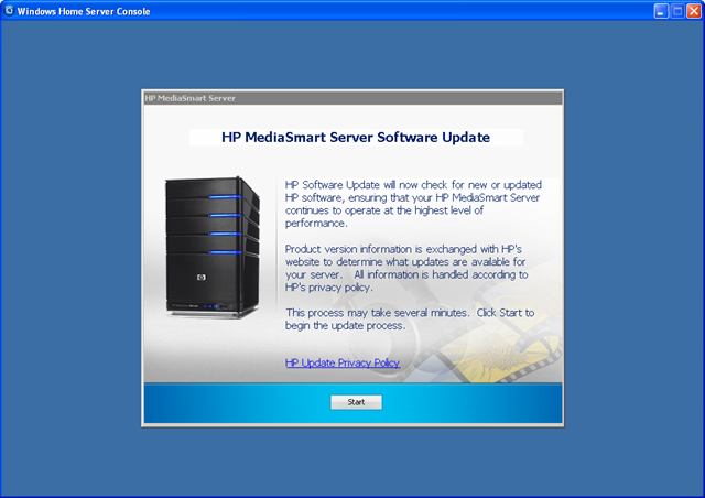 windows home server update 2