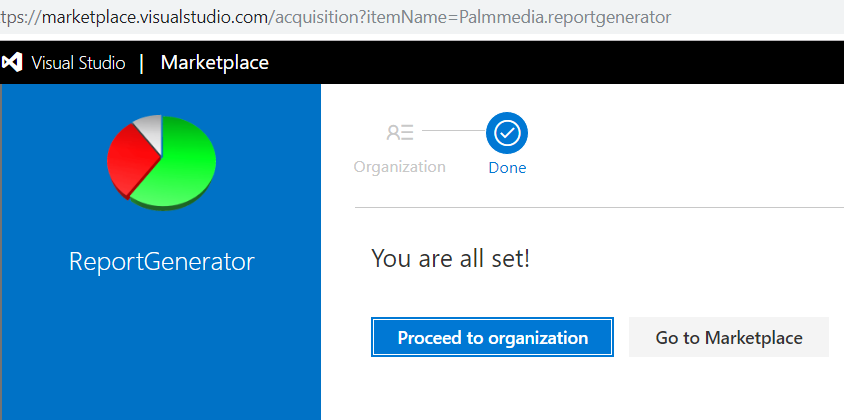 Palmmedia.ReportGenerator in Visual Studio marketplace