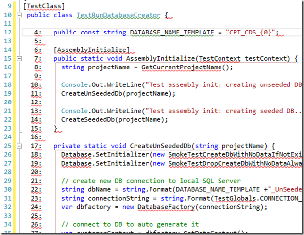 Dont Forget Block Selection Using Alt in Visual Studio