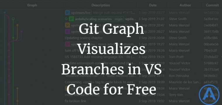 Git Graph Visualizes Branches in VS Code for Free