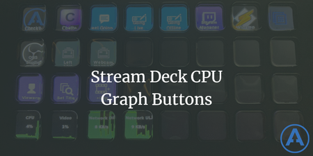 featured image thumbnail for post Stream Deck CPU Graph Buttons
