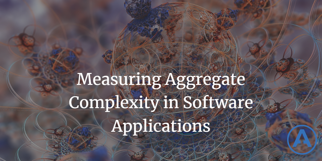 Measuring Aggregate Complexity in Software Applications