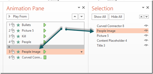 Rename Elements in PowerPoint