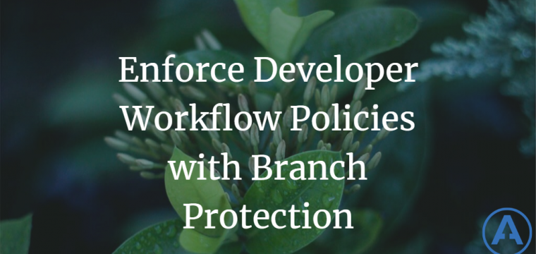Enforce Developer Workflow Policies with Branch Protection
