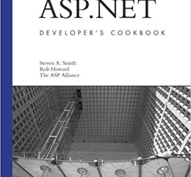featured image thumbnail for post ASP.NET Developer's Cookbook Released