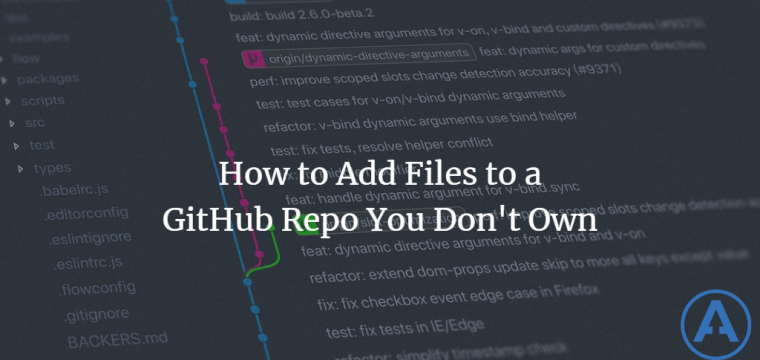 How to Add Files to a GitHub Repo You Don't Own