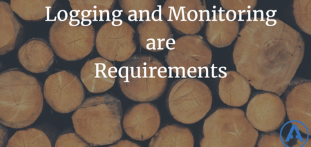 featured image thumbnail for post Logging and Monitoring are Requirements
