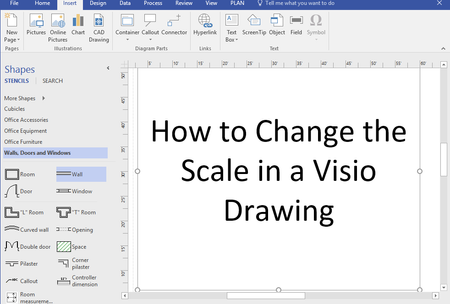 featured image thumbnail for post How to Change Drawing Scale in Visio Professional