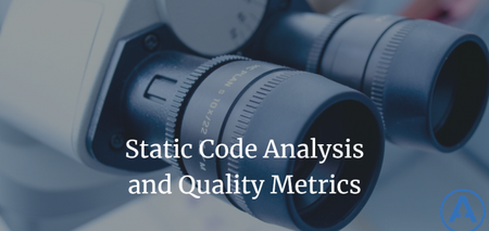 featured image thumbnail for post Static Code Analysis and Quality Metrics